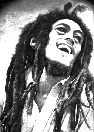 Bob Marley after ganja smoke ;D solution